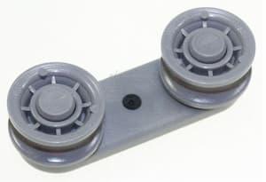 Conjunto ruedas riel cesto inferior